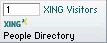 Xing's Visitors widget